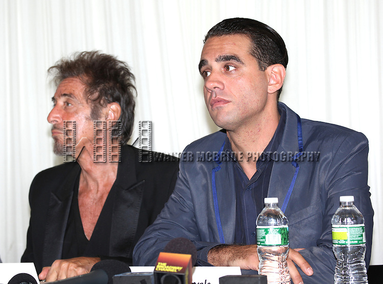 Al Pacino & Bobby Cannavale attending the 'Glengarry Glen Ross' Media Day at Ballet Hispanico Rehearsal Studios in New York City on 9/19/2012.