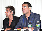 Al Pacino & Bobby Cannavale attending the 'Glengarry Glen Ross' Media Day at Ballet Hispanico Rehearsal Studios in New York City on 9/19/2012.
