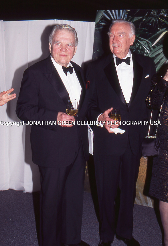 Andy Rooney & Walter Cronkite 1996 NYC<br /> By Jonathan Green