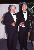 Andy Rooney & Walter Cronkite 1996 NYC<br />