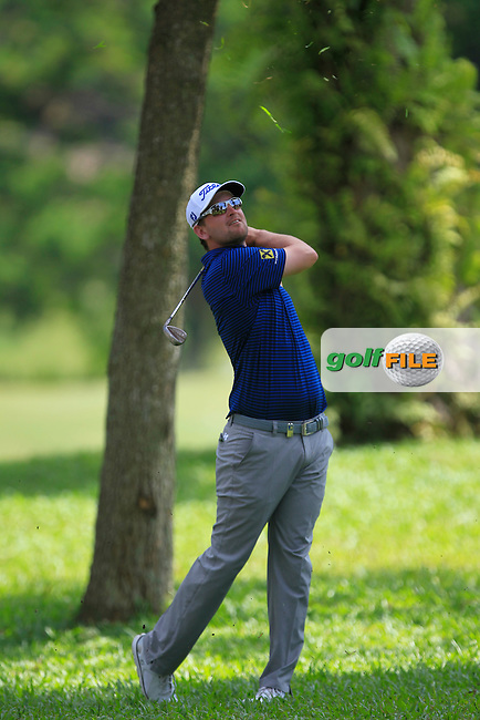 Bernd Wiesberger (AUT) on the 18th fairway during Round 4 of the Maybank Championship on Sunday 12th February 2017.<br /> Picture:  Thos Caffrey / Golffile<br /> <br /> All photo usage must carry mandatory copyright credit     (&copy; Golffile | Thos Caffrey)