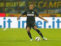 Juan Jesus  during the Italian serie A   soccer match between SSC Napoli and Inter    at  the San Siro    stadium in Milan  Italy , Octoberr 19 , 2014