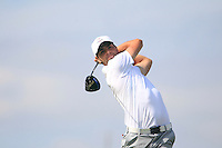 Thomas Anderson (ENG) on the 12th tee during the Home Internationals day 2 foursomes matches supported by Fairstone Financial Management Ltd. at Royal Portrush Golf Club, Portrush, Co.Antrim, Ireland.  13/08/2015.<br /> Picture: Golffile   Fran Caffrey<br /> <br /> <br /> All photo usage must carry mandatory copyright credit (© Golffile   Fran Caffrey)