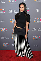 www.acepixs.com<br /> April 5, 2017  New York City<br /> <br /> Padma Lakshmi attending the Women in the World Summit on April 5, 2017 in New York City.<br /> <br /> Credit: Kristin Callahan/ACE Pictures<br /> <br /> <br /> Tel: 646 769 0430<br /> Email: info@acepixs.com