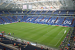 01 July 2006: A wide shot of the stadium with the roof open after the game. England played Portugal at Veltins Arena in Gelsenkirchen, Germany in match 59, a Quarterfinal game of the 2006 FIFA World Cup.