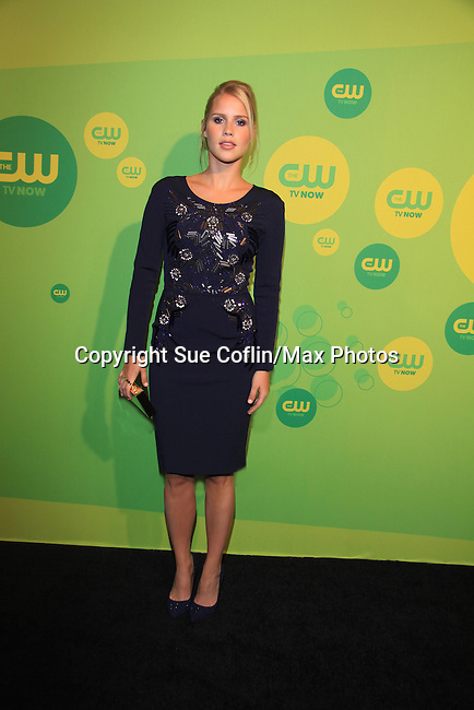 Claire Holt - The Originals  at the CW Upfront on May 16, 2013 at London Hotel, New York City, New York. (Photo by Sue Coflin/Max Photos)