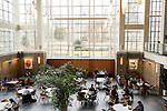 February 23, 2015. Durham, North Carolina.<br />  Star Commons, one of the newer sections of the Law School, is where many students meet, study or have lunch.<br />  The Duke University School of Law is considered one of the best law schools in the country.
