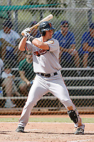 Charlie Culberson - San Francisco Giants 2009 Instructional League .Photo by:  Bill Mitchell/Four Seam Images..