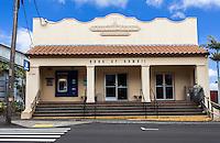 Old Bank of Hawaii building, Honokaa, Big Island, Hawaii