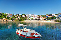 The port at Rousoum of Alonissos island, Greece