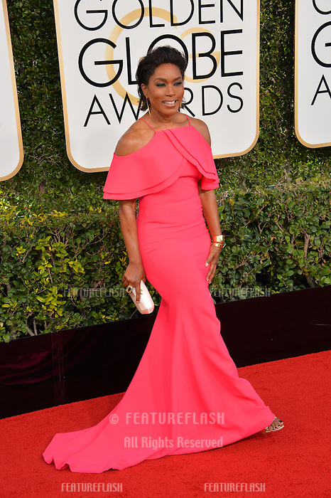 Angela Bassett at the 74th Golden Globe Awards  at The Beverly Hilton Hotel, Los Angeles USA 8th January  2017<br /> Picture: Paul Smith/Featureflash/SilverHub 0208 004 5359 sales@silverhubmedia.com