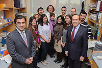 Turkish Ambassador to the United States, His Excellency Namik Tan visit to Yale University. Group Photo with Turkish Students at the Yale Medical School | 6 December 2012