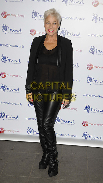 LONDON, ENGLAND - NOVEMBER 18: Denise Welch attends the Mind Media Awards 2013, BFI Southbank on November 18, 2013 in London, England, UK.<br /> CAP/CAN<br /> &copy;Can Nguyen/Capital Pictures