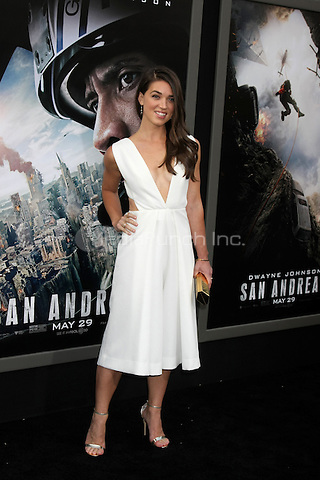 HOLLYWOOD, CA - MAY 26: Marissa Neitling at the San Andreas film premiere at The TCL Chinese Theatre in Hollywood, California on May 26, 2015. Credit: David Edwards/MediaPunch