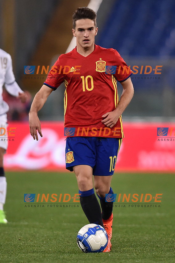 Denis Suarez Spagna <br /> Roma 27-02-2017, Stadio Olimpico<br /> Football Friendly Match  <br /> Italy - Spain Under 21 Foto Andrea Staccioli Insidefoto