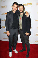 LOS ANGELES - OCT 6: Tom Tykwer, Christian Oliver at the Babylon Berlin International Premiere held at The Theatre at Ace Hotel on October 6, 2017 in Los Angeles, CA