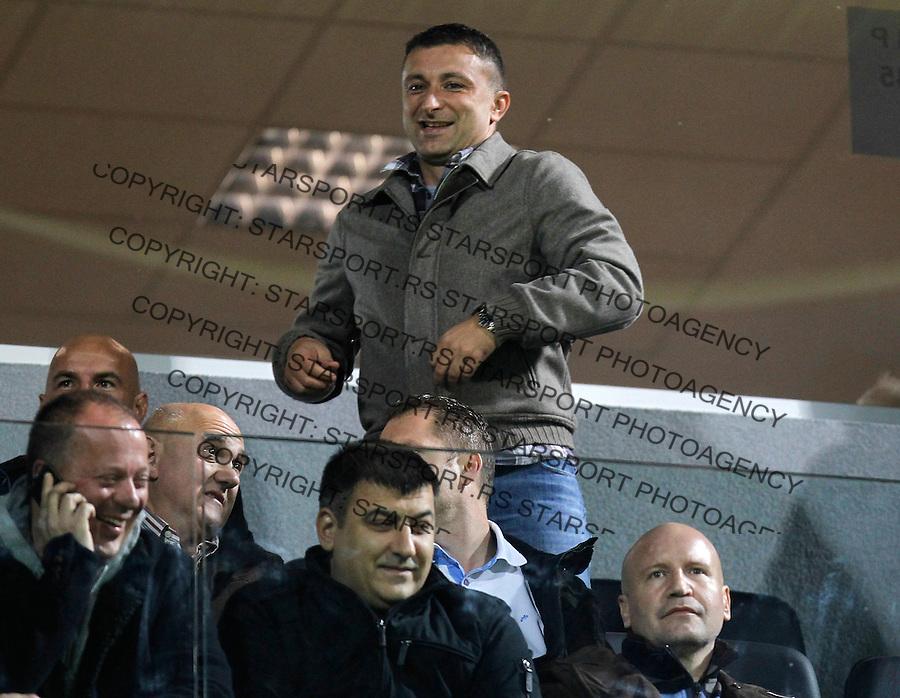 Fudbal Super liga season 2013-2014<br /> Cukaricki v Crvena Zvezda<br /> Vladimir Matijasevic<br /> Beograd, 06.10.2013.<br /> foto: Srdjan Stevanovic/Starsportphoto &copy;