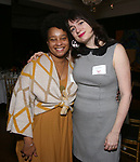Charly Evon Simpson and Maya McDonald  during the Vineyard Theatre's Emerging Artists Luncheon honoring Charly Evon Simpson with the Paula Vogel Playwriting Award at the National Arts Club on November 25, 2019 in New York City.