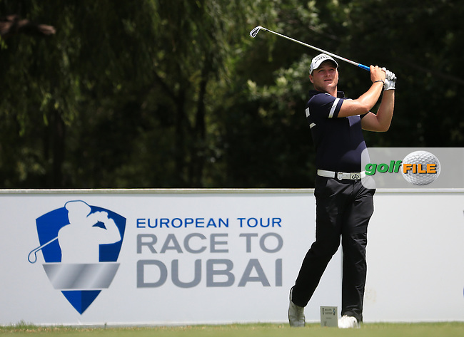 A future SA star in the making is Zander Lombard (RSA) in action during Round Three of the 2016 BMW SA Open hosted by City of Ekurhuleni, played at the Glendower Golf Club, Gauteng, Johannesburg, South Africa.  09/01/2016. Picture: Golffile | David Lloyd<br /> <br /> All photos usage must carry mandatory copyright credit (&copy; Golffile | David Lloyd)