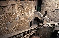 Italien, Toskana, Poppi, in der Burg