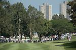 Rafael Cabrera Bello of Spain plays an approach shot during the 58th UBS Hong Kong Golf Open as part of the European Tour on 11 December 2016, at the Hong Kong Golf Club, Fanling, Hong Kong, China. Photo by Marcio Rodrigo Machado / Power Sport Images