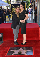 LOS ANGELES, CA. November 09, 2018: Sarah Silverman & Amy Zvi at the Hollywood Walk of Fame Star Ceremony honoring comedian Sarah Silverman.<br /> Pictures: Paul Smith/Featureflash