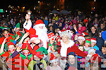 Santa and Mrs Claus got a huge welcome when they visited Kenmare on Saturday evening