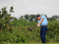 Scott Haughton (Clarkes Golf Centre) on the 5th tee during Round 1 of the Titleist &amp; Footjoy PGA Professional Championship at Luttrellstown Castle Golf &amp; Country Club on Tuesday 13th June 2017.<br /> Photo: Golffile / Thos Caffrey.<br /> <br /> All photo usage must carry mandatory copyright credit     (&copy; Golffile | Thos Caffrey)