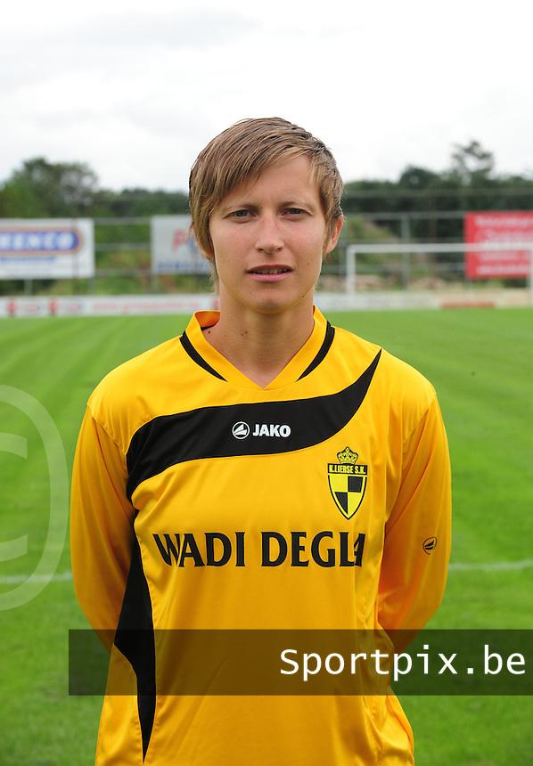 WD Lierse SK : Niki Decock.foto JOKE VUYLSTEKE / Vrouwenteam.be / LOFT6.be