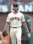 Madison Bumgarner (Giants),<br /> OCTOBER 26, 2014 - MLB :<br /> Pitcher Madison Bumgarner of the San Francisco Giants during Game 5 of the 2014 Major League Baseball World Series against the Kansas City Royals at AT&amp;T Park in San Francisco, California, United States. (Photo by AFLO)