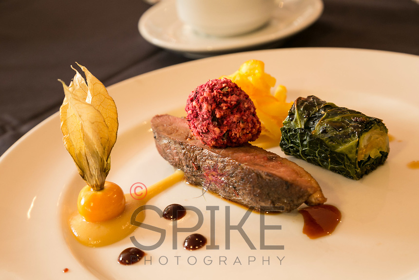 Main course of Duck at Notingham City Business CLub