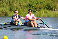 Race: 99  2x (Band 2)  Rep 1<br /> <br /> Peterborough Summer Regatta 2018 - Saturday<br /> <br /> To purchase this photo, or to see pricing information for Prints and Downloads, click the blue 'Add to Cart' button at the top-right of the page.