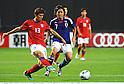 Koo Ja-Cheol (KOR), Yasuhito Endo (JPN),AUGUST 10, 2011 - Football / Soccer :Kirin Challenge Cup 2011 match between Japan 3-0 South Korea at Sapporo Dome in Sapporo, Hokkaido, Japan. (Photo by Takamoto Tokuhara/AFLO)