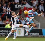 04.08.18 St Mirren v Dundee: Lewis Spence and Kyle Magennis