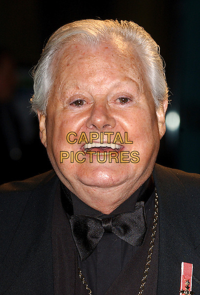 "DANNY LA RUE.""Mrs. Henderson Presents"" Premiere at Vue Cinema, London, UK..November 23rd, 2006.Ref: BEL.headshot portrait bow tie.www.capitalpictures.com.sales@capitalpictures.com.© Capital Pictures."