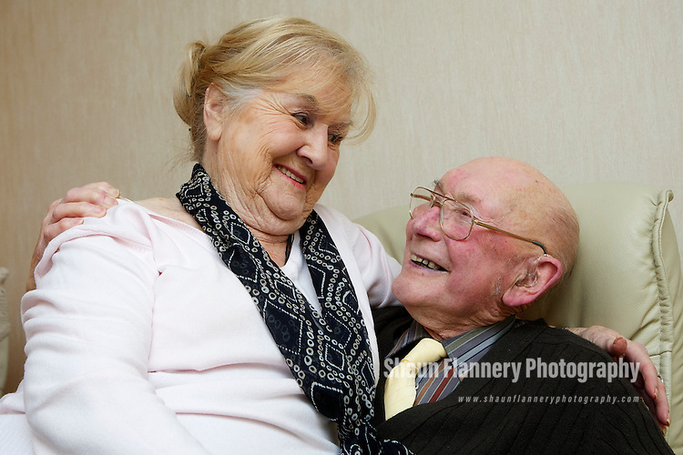 Pix: Shaun Flannery/shaunflanneryphotography.com...COPYRIGHT PICTURE>>SHAUN FLANNERY>01302-570814>>07778315553>>..11th January 2011....................Doncaster 'punk pensioners' Jim (85) and Sylvia (81) Boothman who celebrated their 61st wedding anniversary in Weymouth dressed as punk rockers..Story: Martyn Sharpe 07831350157
