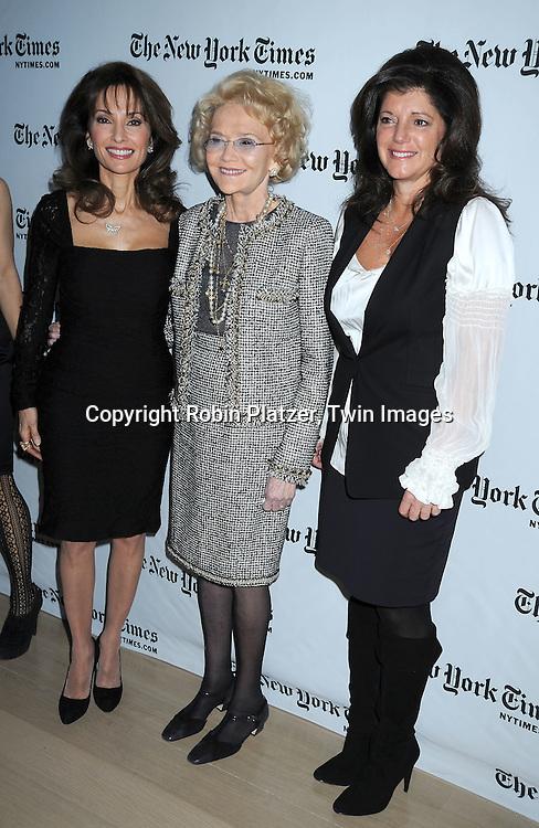 Susan Lucci, Agnes Nixon and Julie Hanan Carruthers