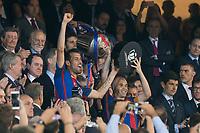 FC Barcelona's midfielder Sergio Busquets during Copa del Rey (King's Cup) Final between Deportivo Alaves and FC Barcelona at Vicente Calderon Stadium in Madrid, May 27, 2017. Spain.<br /> (ALTERPHOTOS/BorjaB.Hojas) /NortePhoto.com