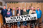 Kilflynn Vintage Rally Launch : Pictured at Parker's Bar, Kilflynn on Friday nigh last to announce the upcoming Kilflynn Vintage rally to be held on Sunday 18th June were in front Hazel Parker, Orla Brennan Helena Brennan & Conor Brennan. Back: Ned Dodd, Thomas Fitzmaurice, Michael O'Connell, Thomas O'Mahony, Joe Brennan, Tom McElligott, Phil Hannaifin, Kevin O'Mahony, John Brennan, Pat Murnane & Jack Kelly.