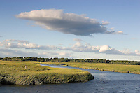Scarborough Marsh; Maine's largest salt marsh - 3000 acres; Maine; Scarborough