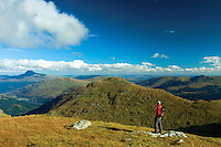 Ben Lomond and The Brack from Ben Donich, the Arrochar Alps, Loch Lomond and the Trossachs National Park, Argyll & Bute