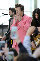 www.acepixs.com<br /> May 9, 2017 New York City<br /> <br /> Harry Styles performing on NBC's 'Today' at Rockefeller Plaza on May 9, 2017 in New York City. <br /> <br /> Credit: Kristin Callahan/ACE Pictures<br /> <br /> Tel: (646) 769 0430<br /> e-mail: info@acepixs.com