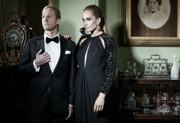 Sunday. Fashion Mirella, Brendan and Erika from Rocky Horror at Ayres House.  with Pic:Nick Clayton