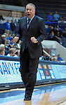 March 1, 2016 - Colorado Springs, Colorado, U.S. -   Air Force head coach, Dave Pilipovich, during an NCAA basketball game between the Utah State University Aggies and the Air Force Academy Falcons at Clune Arena, United States Air Force Academy, Colorado Springs, Colorado.  Utah State defeats Air Force 78-65.