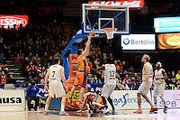 Harangody vs Akindele<br /> Liga Endesa ACB - 2014/15<br /> J17<br /> Valencia Basket vs Montakit Fuenlabrada