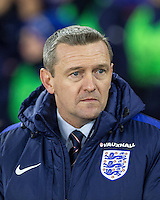 England U21 Caretaker Manager Aidy Boothroyd during the Under 21 International Friendly match between England and Italy at St Mary's Stadium, Southampton, England on 10 November 2016. Photo by Andy Rowland.