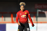 Lauren James of Manchester United Women during Brighton & Hove Albion Women vs Manchester United Women, SSE Women's FA Cup Football at Broadfield Stadium on 3rd February 2019