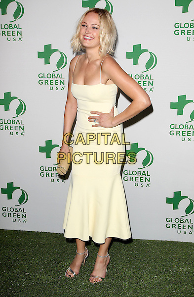 26 February 2014 - Hollywood, California - Malin Akerman. Global Green USA's 11th Annual Pre-Oscar Party held at Avalon.  <br /> CAP/ADM/FS<br /> &copy;Faye Sadou/AdMedia/Capital Pictures