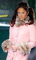 JENNIFER LOPEZ SHOOTING HER NEW MUSIC VIDEO<br /> HUDSON STREET IN NEW YORK CITY  ©2002<br /> Photo By John Barrett/PHOTOlink