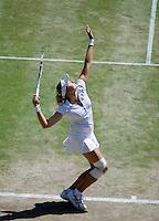 1-7-08, England, Wimbledon, Tennis, Nadia Petrova